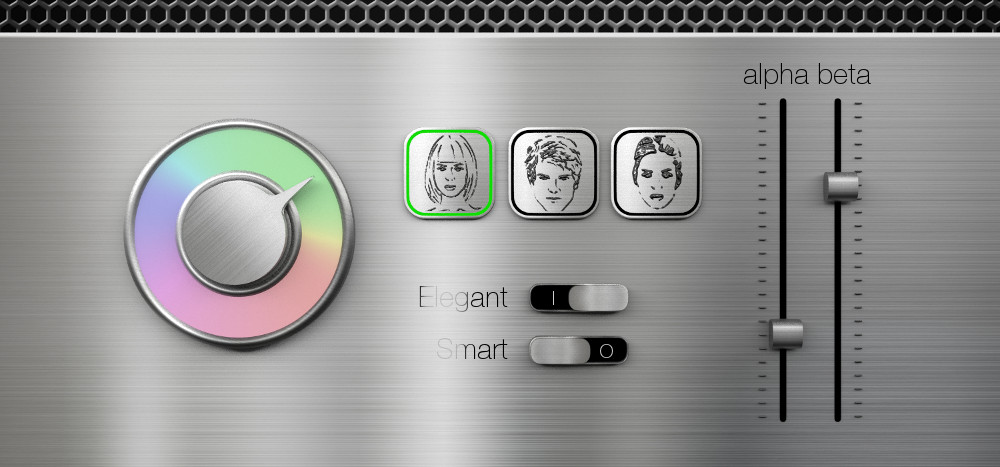 Display für einen Produktkonfigurator