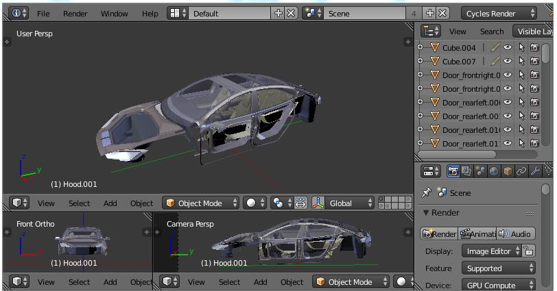 3D Modellierung mit Profi-Programm Blender 3D